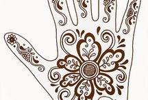 Henna Designs & Inspiration / by Amara Zoleske Honeck