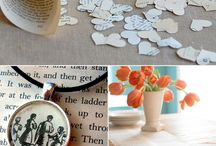 Upcycled Books Crafts