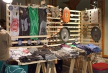 Exhibición de ropa