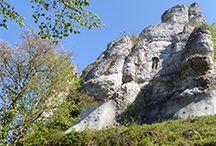 Wandern im Altmühltal / Wanderwege im Altmühltal (Bayern) in einer tollen Landschaft.