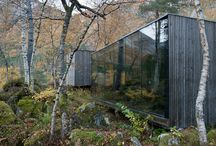 Cabin, sheds, lodges