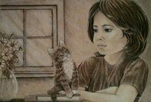 My drawings / by Onalee Nicklin