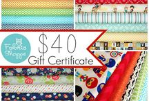 Giveaways / You'll find the latest fabric-related giveaways here!