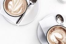 c o f f e e. / but first, coffee