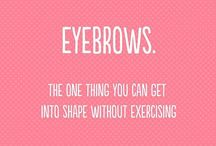 Eyebrow quotes