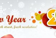 New Year Gifts / The beauty of December month is immense that commixes abundant charms and allures and climbs with the ecstasy to commemorate the coming year that is the New Year 2014.