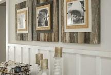 Old wood - Dekorationen mit Holz