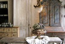 Vintage style...Rustic Farmhouse / by Nancy Jones