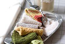 cotton dish cloths