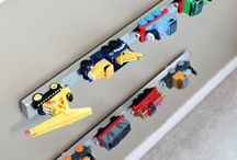 organización juguetes