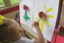 Preschool/Spring Fling Art