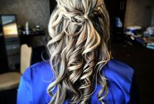 Wedding hair inspiration,classical bun. Grazynamercado.com / Bridal hair inspiration. Classic buns updos