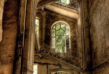 Lost and abandoned / Abandoned places and lost souls.