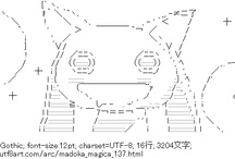 Anime Ascii Art / by NeoNeko.net