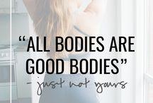 BODY IMAGE & BODY POSITIVITY ♥