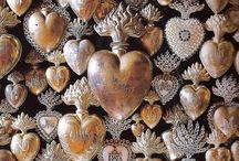 Heart shaped art