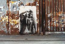 Street Art Ernest Pignon-Ernest