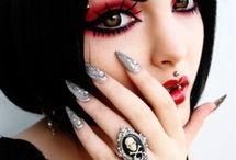 Cheveux Gothique-Gothic-Victorian / Haircolor-Coloration-Gothique