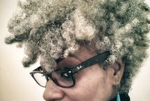 Gray Natural Hair / a part of our color me naturale series featuring pretty shades of gray colored natural hair.