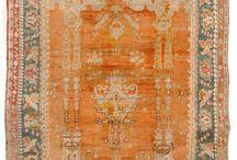 Antique Oushak Rug (Turkish)