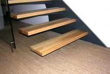 Stair Treads / Featuring Inspiration for your Stairs and Stair Treads (Steps)