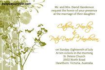 wedding invitaion