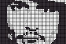 grille c2c crochet star