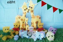 Beads Craft / Our cute beaded animals