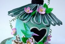 BIRD HOUSES / This board is about bird houses that were made by very creative people who love birds.These bird houses are beautiful and you can tell a lot of love and hard work went into these houses.I hope you enjoy looking at these and thank you for visiting.Happy pinning :)  / by Sandra Hozey
