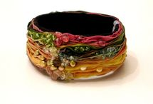 Jewelry: Fabric, Fibers & Ribbon / by Michelle Gray