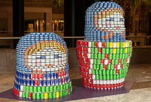 Can-struction yay!