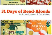 Picture Books & Read Alouds / Picture Books & Read Alouds including lists, activities, and more all related to great picture books and read alouds.