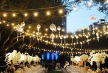 Wedding Lighting Inspiration / Lighting Up Your Magical Night