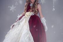 crimson belle'.... A rich velvet ball gown