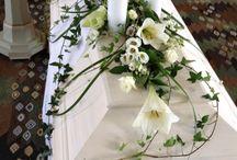 florist begravning