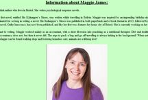 About Maggie James / A few things about me...