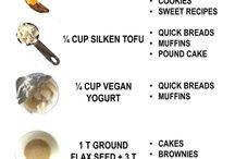 Vegan egg substitute