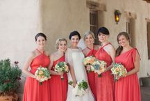 Bridesmaids! / The ladies who will stand by your side on your big day! Here are some classic and fun pictures for inspiration!