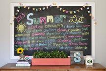 Summer list / by Tori Wehrle