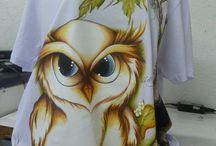 camiseta pintandas