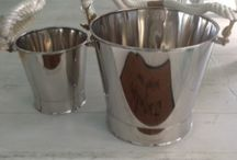 Champagne Holders by Chora Art Home Design / Add luxury to your home with these exclusive champagne holders.