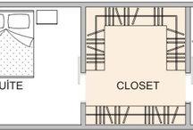 dormitorios y vestidores