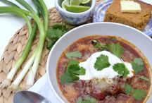 Soups / Comforting soups and stews.