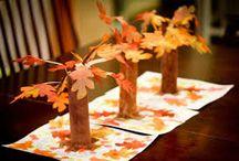 herfst knutsel
