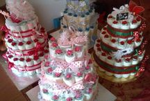Diaper cake / by Chaza-art
