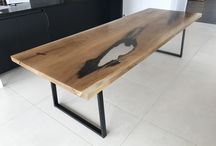 """""""Floe"""" Resin Dining Tables"""