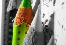 one colour photos