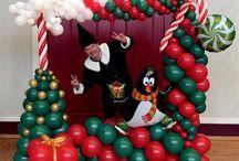 christmas balloon ideas