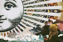 """Collage """"um die Welt"""""""