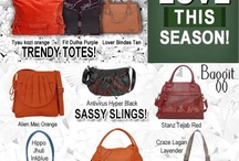 Turn some heads this season! / Go ahead and mix up your look this season with fashionable bags. Functional and elegant, each piece crafted in exclusive cruelty-free materials is just the thing for summer! Exclusively Available at: www.baggit.com